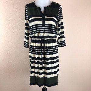 Allison Britney Striped Dress